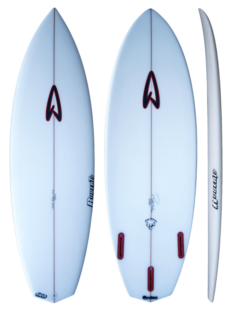 Roberts Surfboards White Diamond